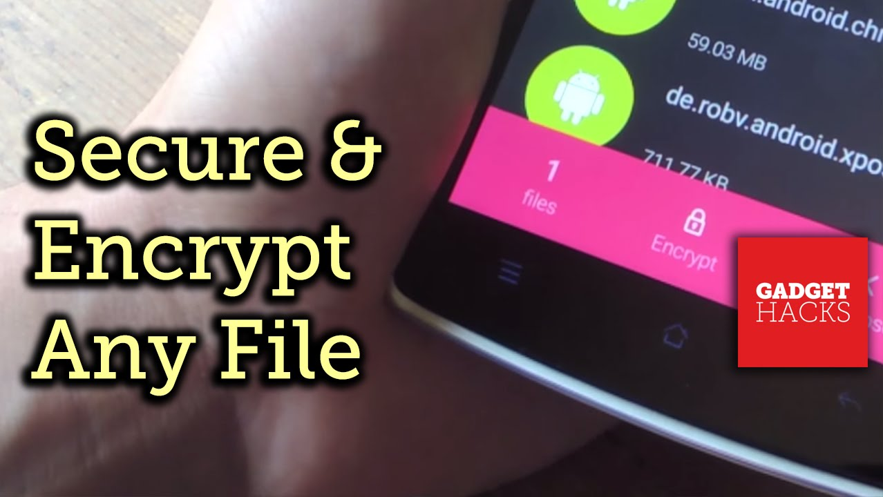 How to Encrypt & Hide Files, Photos, & Videos on Android