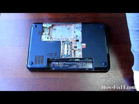 HP Pavilion G6 assembling, сборка ноутбука