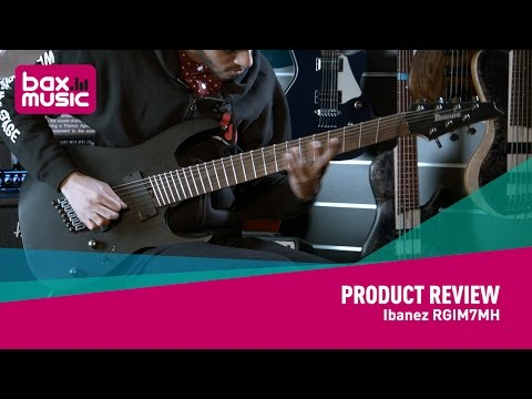 Ibanez RGIM7MH - NAMM 2017 (first look)