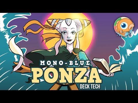 Instant Deck Tech: Mono-Blue Ponza (Modern)