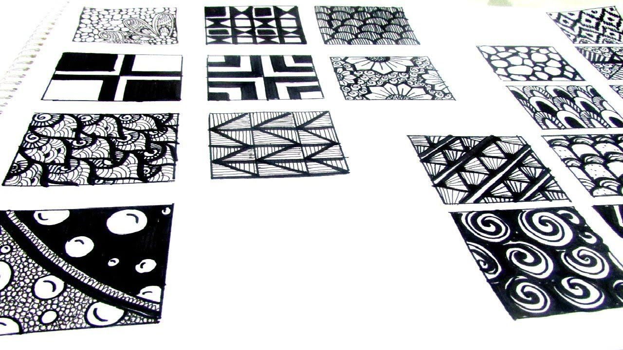 picture relating to Zentangle Patterns Step by Step Printable known as How in direction of Buy Commenced With Zentangle Routines within the Clroom