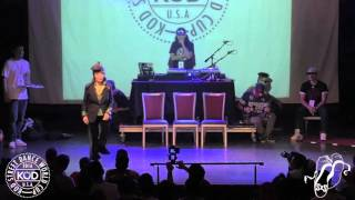 Toni Basil: KOD 2016 World Cup USA Preliminaries Locking Judges Showcase.  Sept. 20, 2015.