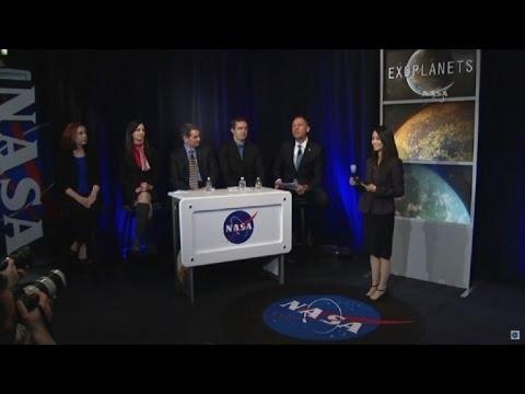URGENTE: Hallan 7 exoplanetas donde se podrá buscar vida