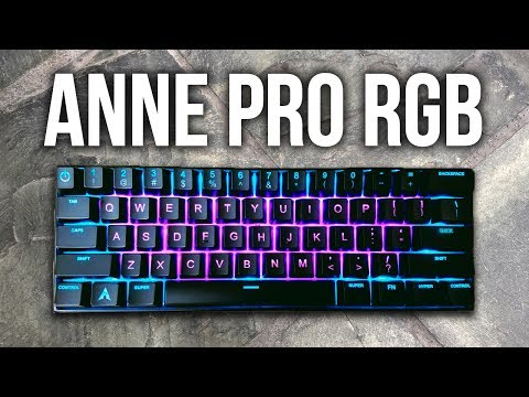 The BEST Wireless Mechanical RGB Keyboard Under $100! Anne Pro RGB Review