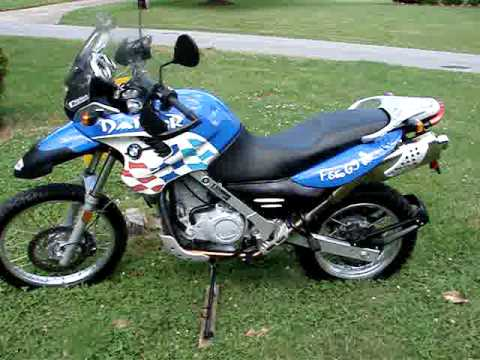 Bmw F650 Gs Dakar Pristeen Ridefree27 Youtube
