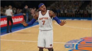 "NBA 2K15 My League Fantasy Mode Ep.2 - New York Knicks | ""Blockbuster Trade & Debut Game"" 