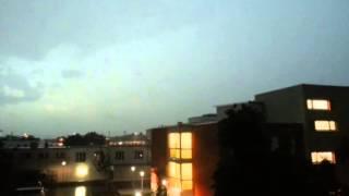 Unwetterwarnung NRW 09.06.2014 (hier: Troisdorf)