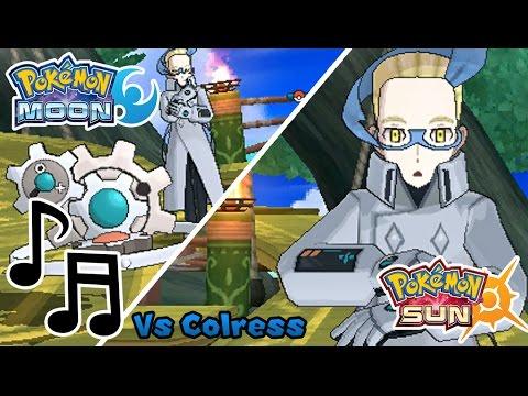Pokemon Sun & Moon: Colress Rematch (HQ)