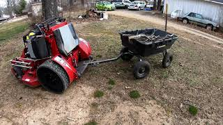 Gorilla Cart - Multiple Uses In Lawn Care