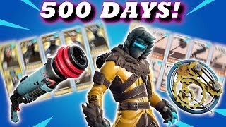 STACKED ACCOUNT! 500+ DAYS LOGGED IN! // Fortnite Save The World