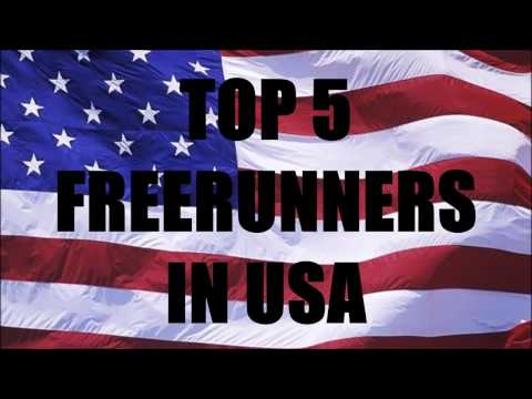 TOP 5 FREERUNNERS IN USA