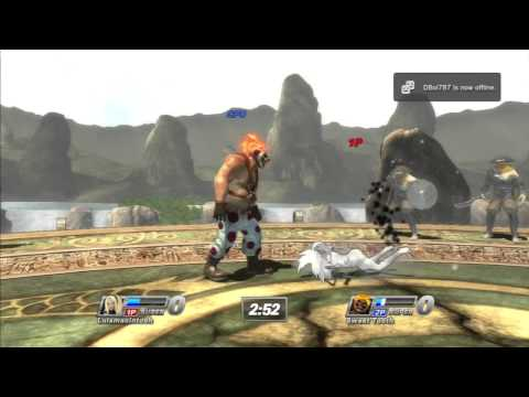 PlayStation All-Stars Battle Royale Fearless Stage DLC Gameplay