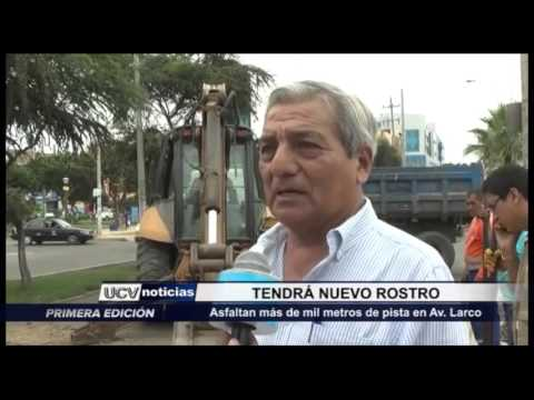 Trujillo: Asfalto se realizó en Av. Larco