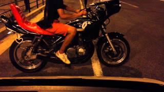 ゼファー400 DJショート管 コール練習/旧車會 CBX XJR GS ジェイド