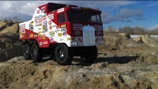 Rc Cwr - 6x6 Losi Trekker Rally Truck And Friends