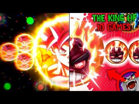 ►THE KING OF .IO GAMES!🔥 / Agar.io, Gaver.io & Gota.io |