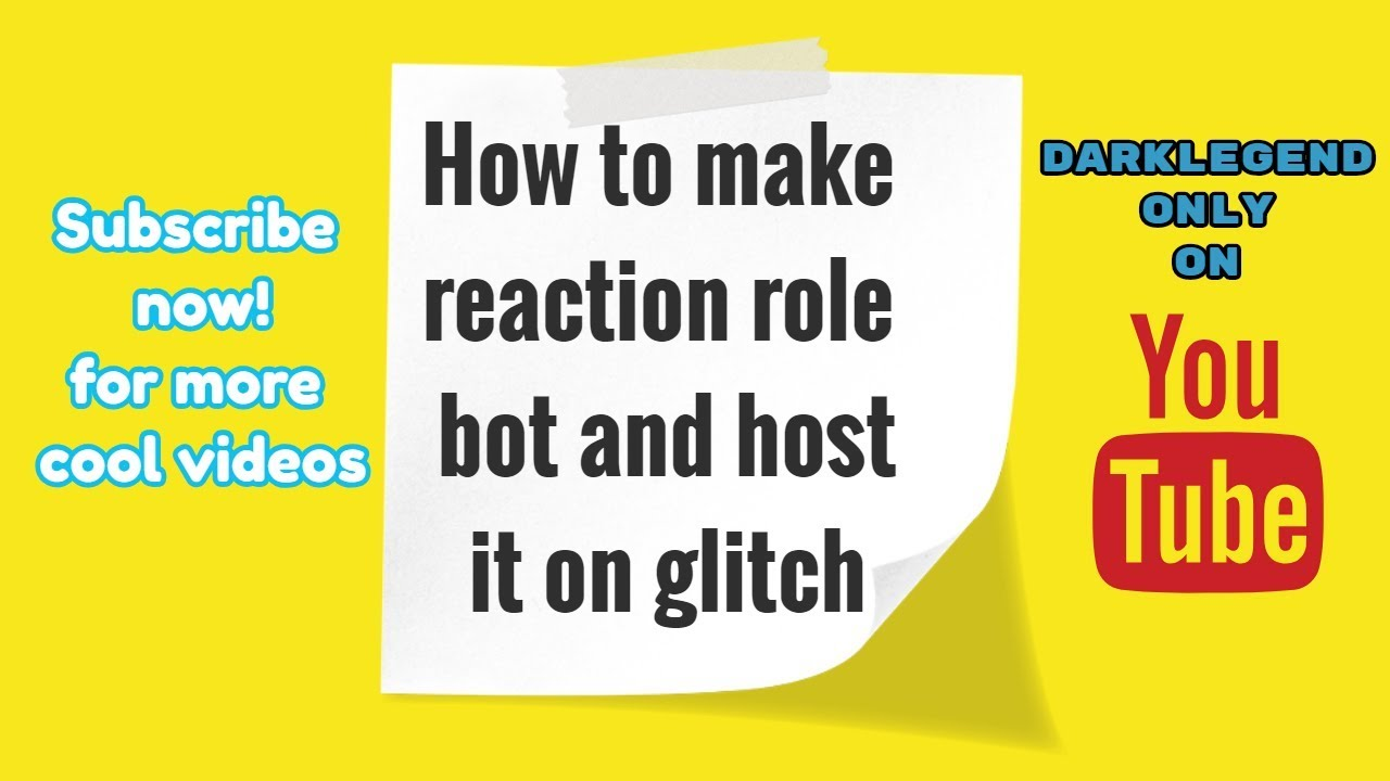 Make reaction role verification system from discord js | Code in  description |