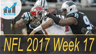 NFL 2017 Week 17: Sunday games to watch, schedule, TV, live scoreboard, updates