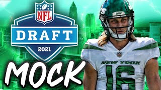 2021 NFL Mock Draft | Jets Draft Trevor Lawrence