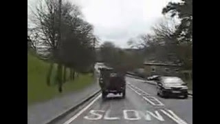 Military Vehicle Road Run in Weardale