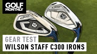 Wilson Staff C300 vs C300 Forged | Irons Test | Golf Monthly