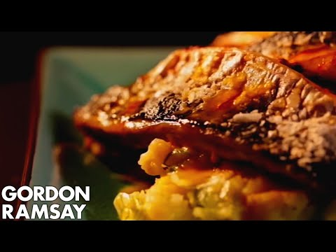 Roasted Mackerel with Garlic and Paprika - Gordon Ramsay