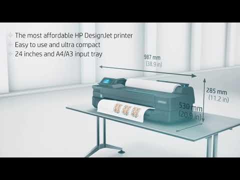 Designjet Showcase: HP Designjet T120 Product Video