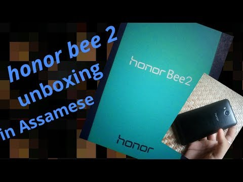 Honor bee 2 4g volte phone unboxing in Assamese