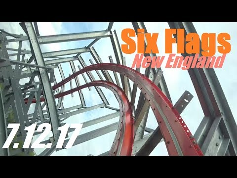 Six Flags New England Vlog - 7.12.17