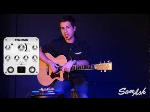 Fishman Aura Spectrum DI Acoustic Guitar Preamp At Sam Ash Music