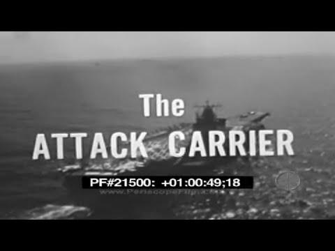 The Attack Carrier - Aircraft Carrier, U.S. Navy, Grumman A-6 Intruder, F-4 Phantom II 21500