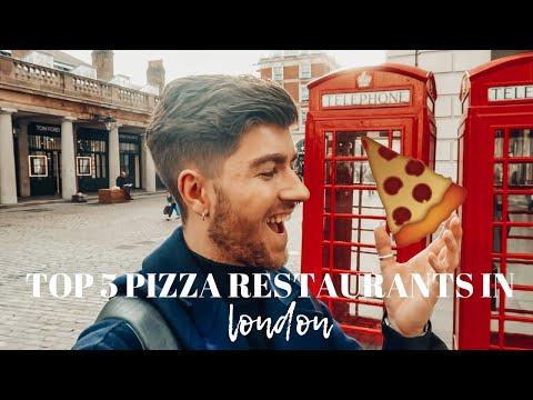 TOP 5 PIZZA RESTAURANTS IN LONDON!   VLOG