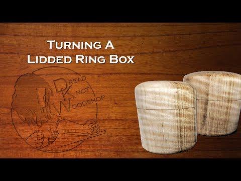 Make a Turned Ring Box