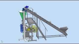 Оборудование для фасовки земли почвогрунта торфа 5 и 10 л(Подробно на сайте http://upakovochnoedelo.ru/ Предприятие