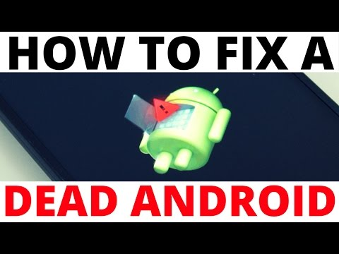 How to Fix The Dead Android and Red Triangle Error Symbol - Android Recovery Screen