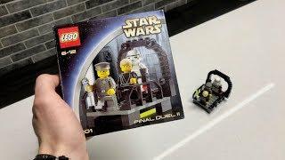 LEGO Star Wars - 7201 Final Duel 2 - ЗАПЕЧАТАННЫЙ НАБОР 2002 ГОДА