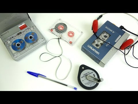 Compact Cassette Tape Winders - From Bic to Sony Mp3