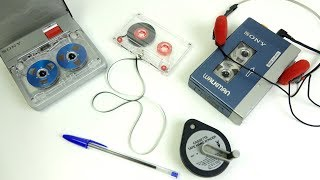 Compact Cassette Tape Winders - From Bic to Sony