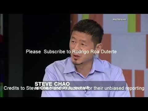 STEVE CHAO: DUTERTE IS LIKE BATMAN