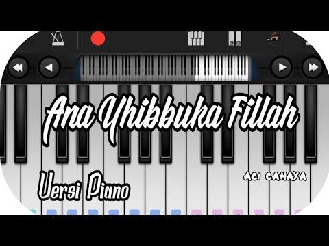 Ana Uhibbuka Fillah_ Nissa Sabyan Versi Piano