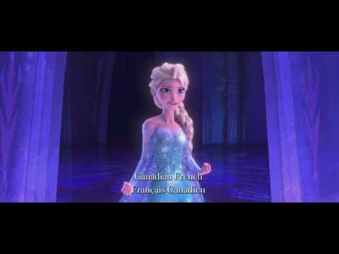 Frozen   Disney   Let It Go - Multi-language  On 3D, Blu-Ray, DVD and Digital NOW
