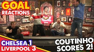 LFC Fan Goal Reactions! | Coutinho Scores Two! | (Uncensored)