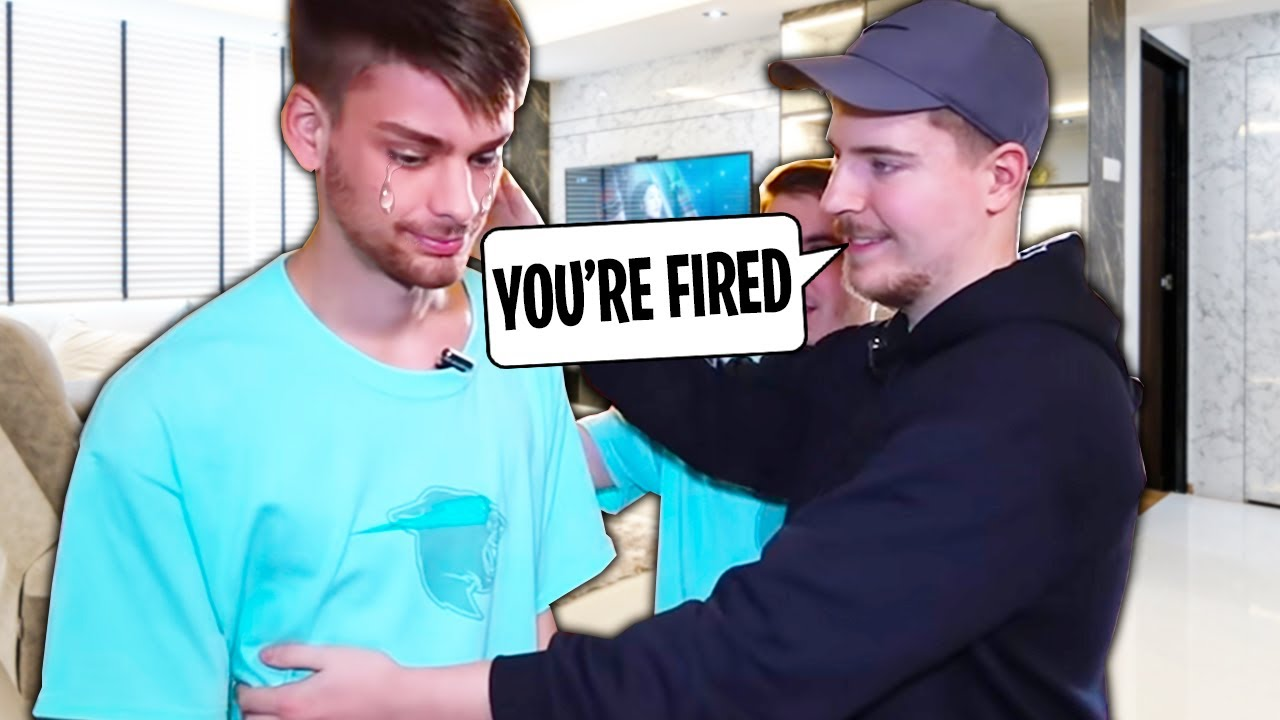 Download 5 People Who Were Fired by MrBeast! (Chandler Hallow, Marcus, Jake The Viking, Sneako)
