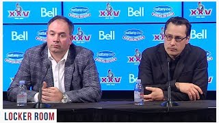 Pierre Dorion & Guy Boucher - Press Conference