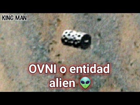 Espectacular OVNI que cambia de forma o entidad biológica extraterrestre captada en video