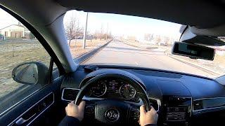 2014 Volkswagen Touareg 3.6 FSI 4Motion (249hp) POV TEST Drive