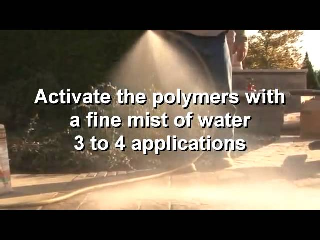 SEK-Surebond Polysweep Polymeric Sand - Installation