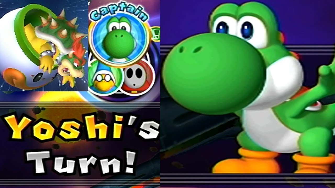 Mario Party 9 Solo Mode 124 Yoshi Bowser Station Youtube