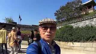 Haseong castle of Jangan gate and Wall of Beauty