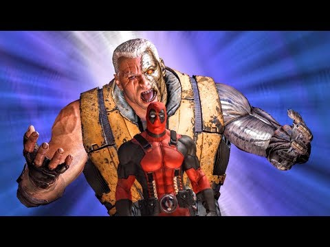 Cable Fixes The Sentinel's Boot Shuttle for Wade Wilson (Deadpool Game)
